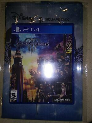 Kingdom Hearts 3 PS4 Adult Owned Include Bonus Fast Shipping!!!
