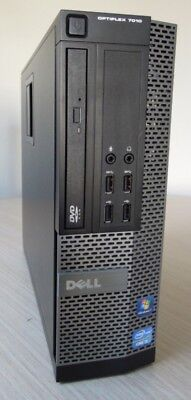* FAST Dell 7010 * * 8GB RAM * QUAD CORE i5-3rd Gen * SFF * 500GB * Win 10 Pro *