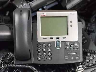 Cisco 7942 OR 7940 Unified IP Phone VoIP Telephone CCNA CCNP CCIE Voice