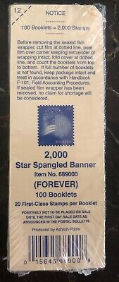 2000 Discount Forever Stamps FV$1100 CHEAP POSTAGE Original USPS 100 Books Of 20