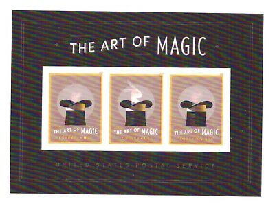 US - Souvenir Sheet - Sc #5306a - The Art of Magic - MNH Sealed in Orig. pkg.