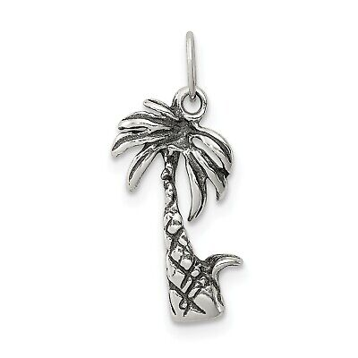 Sterling Silver Surfboard Pendant 1//2 inch Tall