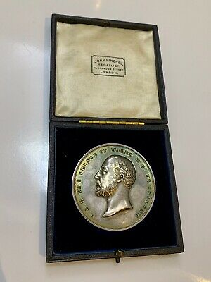 Silver City & Guilds Of London Technological Examination Medal 1901 G T Ormerod