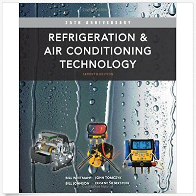 [PDF] Refrigeration and Air Conditioning Technology 7th Edition by Bill Whitman