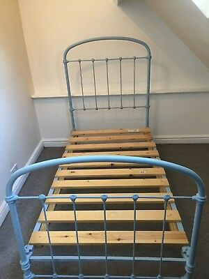 Antique french single bed frame