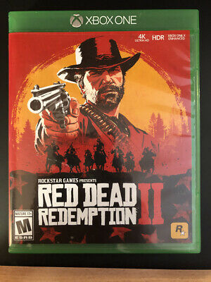 Red Dead Redemption II 2 Xbox One game - New - Used - Only played 1x
