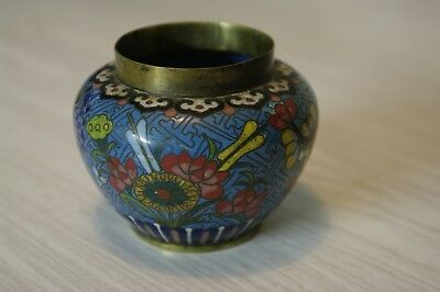 Good Quality Handmade Antique 19th Century Chinese Enamel Pot