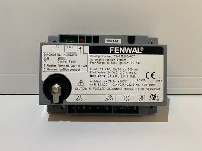 fenwal 35-630200-007 electronic ignition control board spark box module  electric