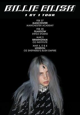 BILLIE EILISH POSTER PRINT ART b SIZE A5/A4/A3/A2/A1 - PRICES FROM £1.95