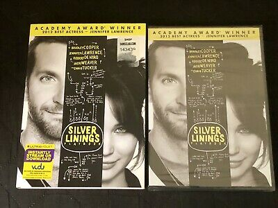 Silver Linings Playbook With Slipcover(DVD, 2013) R1