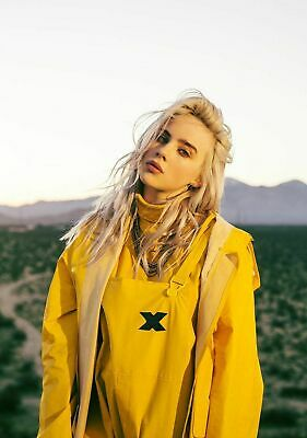 BILLIE EILISH POSTER PRINT ART (c) SIZE A5/A4/A3/A2/A1 - PRICES FROM £1.95