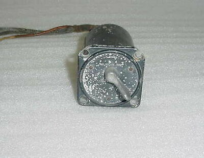 WWII North American P-51D Mustang Aircraft Magneto Switch, A-800CDB