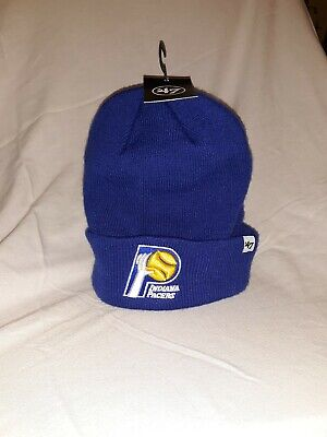 sports shoes ff677 c5a35 47  Brand NBA Indiana Pacers Beanie Knit Hat Winter Cap New w tag