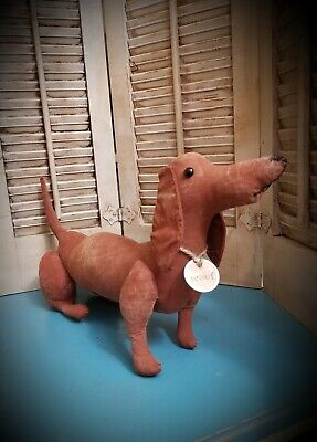 Primitive Dachshund Doxie Puppy Dog Doll  ~ Woof ~ Weenie Dog ~
