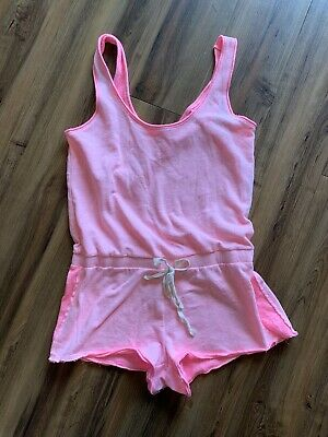2913fd95cdb euc xs victoria s secret one piece romper swim suit cover up pink extra  small vs