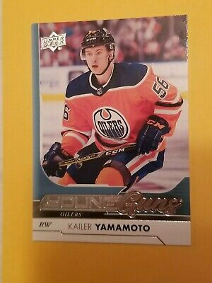 2017-18 Upper Deck Series One #202 Kailer Yamamoto Young Guns Rookie Card