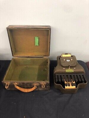 Vintage Stenotype Stenograph Machine LaSalle Master Model Four 1929 Chicago