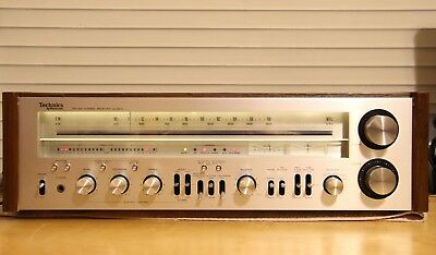 Technics SA-800 Receiver 125 Watts Per Channel, Working with LED Updgrades