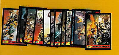 2012 Topps Mars Attacks New Universe Complete Set 15/15 Cards