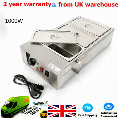 1KW Commercial Electric Chocolate Warmer Boiler Tempering Machine 3 Melting Pot