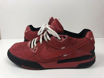 51864604b113f7 NIKE SB ZOOM PAUL RODRIGUEZ P ROD 3 Red Suede Raging Bull Suede 366620-221