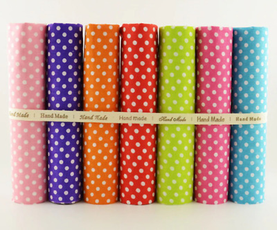 7 PCS Mixed 40x50 100% Cotton Fabric Fat Quarters Bundle Tildas for Quilting