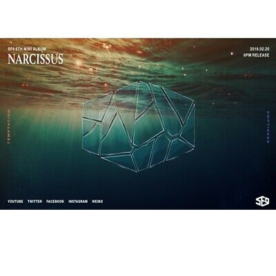 SF9-[Narcissus] 6th Mini Album Random CD,Booklet,PhotoCard boma
