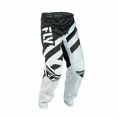 Fly Racing 2018 F-16 Adult Off Road Motocross MX Pants Bottoms - Black/White