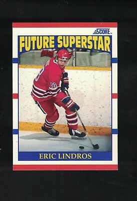 1990-91 Score Hockey Eric Lindros Rookie #440 *FLYERS*