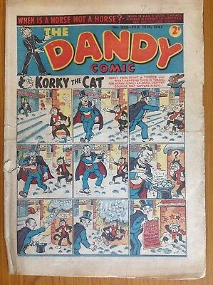 No 338 February 15th 1947 dandy comic