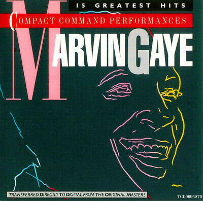 """Marvin Gaye – 15 GREATEST HITS – MOTOWN 1983 – CD – """"Like New"""" Condition!"""