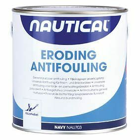 Antivegetativa Autolevigante Akzo Nobel Nautical Blu  Lt 10