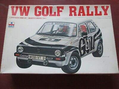 1:24 scale VW Golf Rally ESCI made in Italy