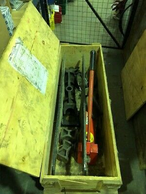 Ridgid hydraulic Pipe Bender Up To 3''