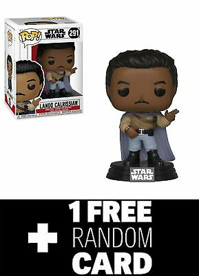 Funko POP! Star Wars: General Lando+ 1 Random Star Wars Trading Card Pack