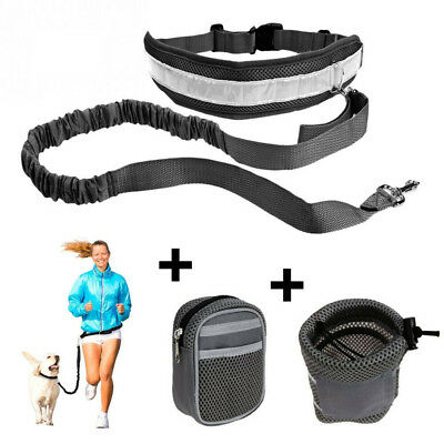 For Dog Harness,Hands Free Leash Reflective Lead Belt Running Walking & Jogging