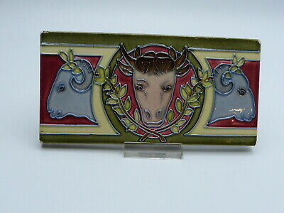 Jugendstil Fliese Metzgerei Schaf Kuh Art Nouveau Tile Bull Butchers Shop 1