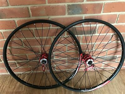 26 inch Wheels Alex DP20 Rim Shimano Quando Hub Disc Wheel Set 7/8/9/10 Speed
