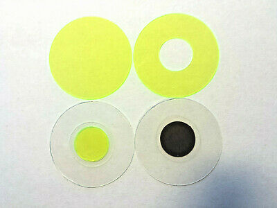 Microscope 32mm Mini-Rheinberg Lt Green Filter Set - Great To Start Or Evaluate!
