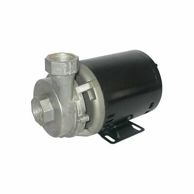 """DAYTON 115VAC Open Dripproof Centrifugal Pump, 1-Phase, 1-1/4"""" NPT Inlet Size"""