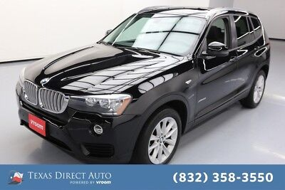 2016 BMW X3 xDrive28i Texas Direct Auto 2016 xDrive28i Used Turbo 2L I4 16V Automatic AWD SUV Premium