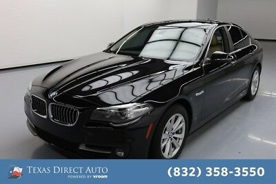 2015 BMW 5-Series 528i Texas Direct Auto 2015 528i Used Turbo 2L I4 16V Automatic RWD Sedan Premium