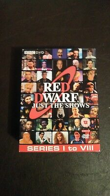 "Red Dwarf ""Just The Shows"" DVD (Series 1 to 8)"