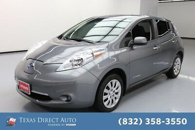 2017 Nissan Leaf S Texas Direct Auto 2017 S Used Automatic FWD Hatchback