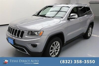 2015 Jeep Grand Cherokee Limited Texas Direct Auto 2015 Limited Used 3.6L V6 24V Automatic 4WD SUV Moonroof