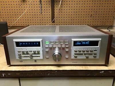 vtg. Pioneer SX-D7000 synthesized stereo receiver amplifier