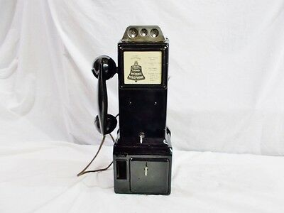 Working 1940s Western Electric #182 D 3 - Slot Payphone Originally Non-Dial