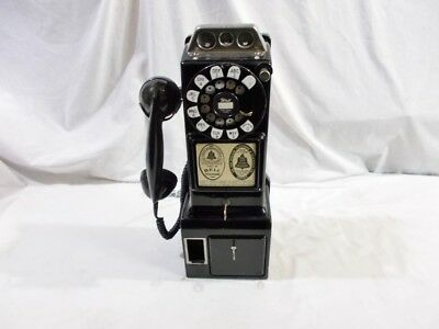 Western Electric #197 G 1956 Working 3-Slot Payphone