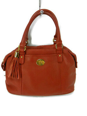TOMMY HILFIGER WOMENS Red Leather Purse Handbag with tassel -  19.99 ... a62d22451f