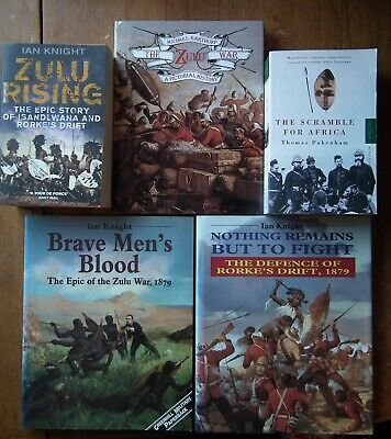 5 Books on the Anglo-Zulu War of 1879 and the Scramble for Africa